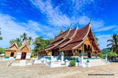 Đền chùa ở Lào