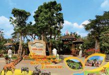 kinh nghiệm khám phá khu du lịch Vườn Xoài