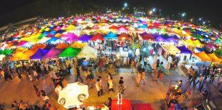 Những khu chợ đêm nổi tiếng tại Bangkok