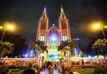 những địa điểm đón giáng sinh nổi tiếng tại Sài Gòn