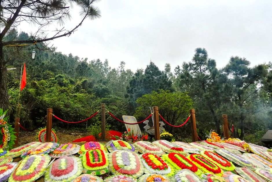 the peaceful resting place of General Vo Nguyen Giap
