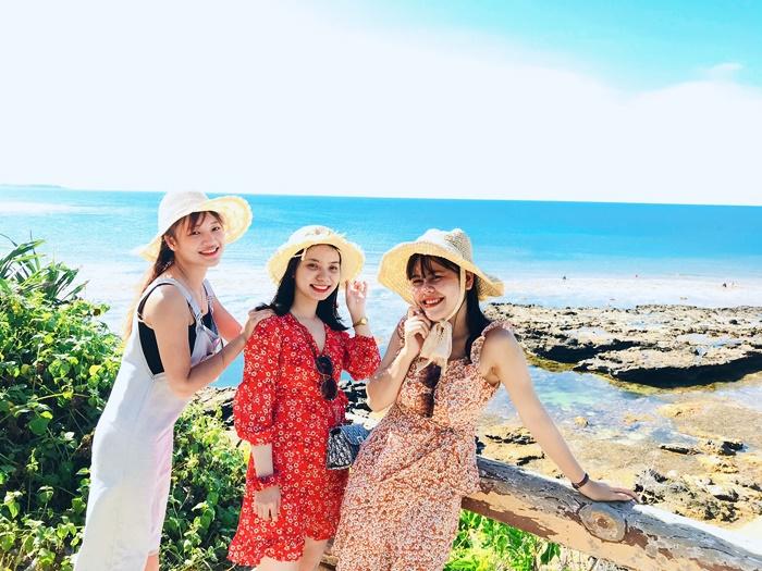 Tốn chưa tới 2 triệu, nhóm bạn gái vẫn có thể thoải mái vi vu đảo Lý Sơn