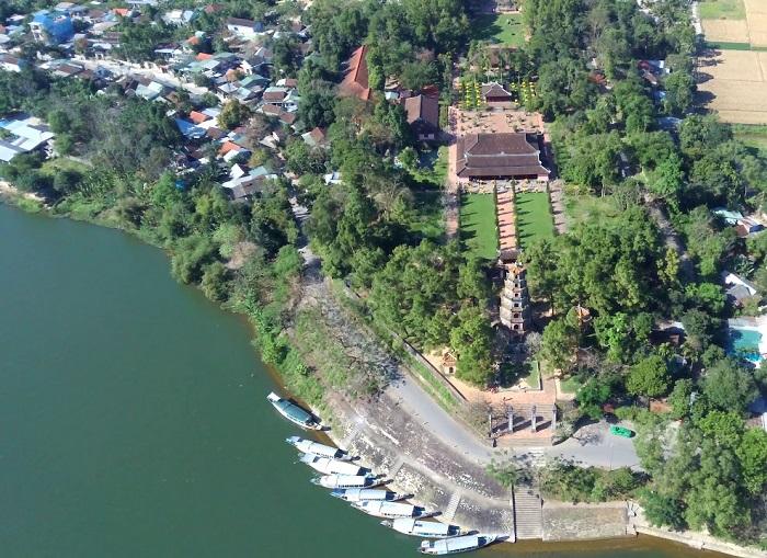 du lịch chùa Thiên Mụ