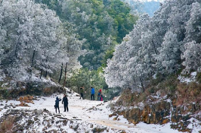 Mẫu Sơn - địa điểm du lịch mùa đông ở Việt Nam lý tưởng