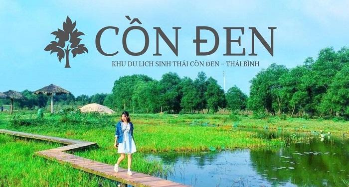 Khu du lịch sinh thái Cồn Đen - địa điểm du lịch nổi tiếng ở Thái Bình