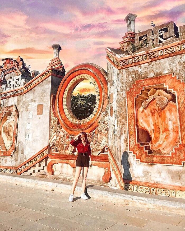 Ba Mu Pagoda - nice check-in place in Hoi An