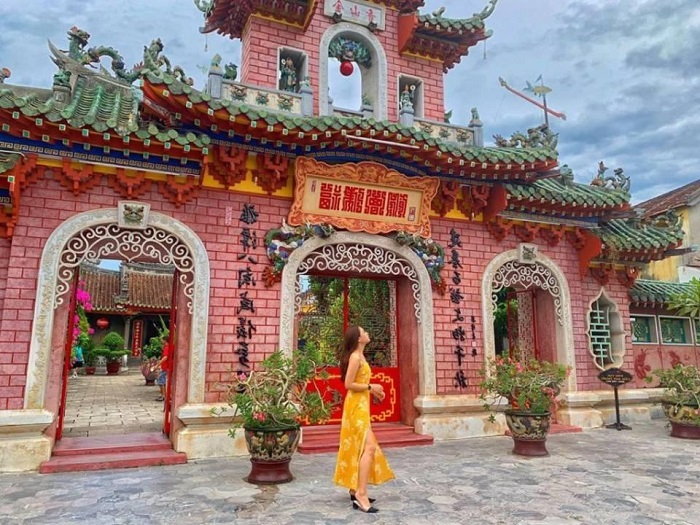 Assembly Hall of Fujian - nice check-in place in Hoi An