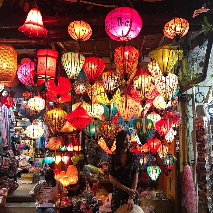 Lantern Street - a beautiful check-in place in Hoi An