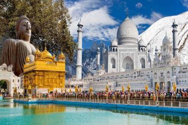 Cần Thơ - New Delhi - Agra - Jaipur 5N4Đ Bay Vietjet