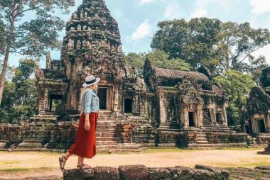 Hà Nội - Siem Riep - Phnom Penh - HCM 4N3Đ Bay Vietjet Air + KS 3, 4*
