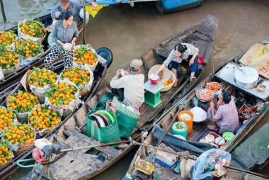 Cần Thơ - Chợ nổi Cái Răng - Lò Hủ Tiếu - Mỹ Khánh - Thiền Viện Trúc Lâm - Chùa Ông - Chợ Cổ 1 Ngày