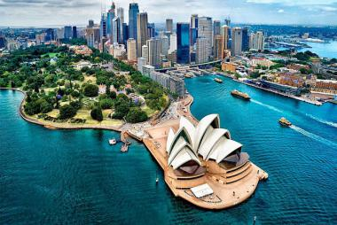 Hải Phòng - Sydney - Canberra - Melbourne 7N6Đ Bay Vietnam Airlines