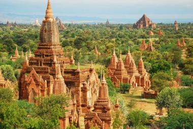 Quảng Ninh - Hà Nội - Yangon - Bago - Chùa Hòn Đá Vàng 4N Bay VJ