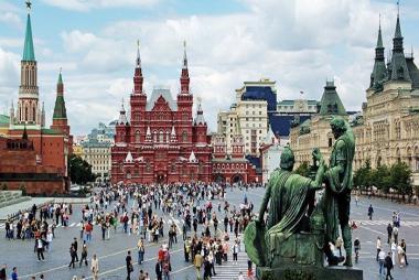 Đà Nẵng - Hà Nội - Moscow - Saint Peterburg 10N9Đ Bay Vietnam Airlines