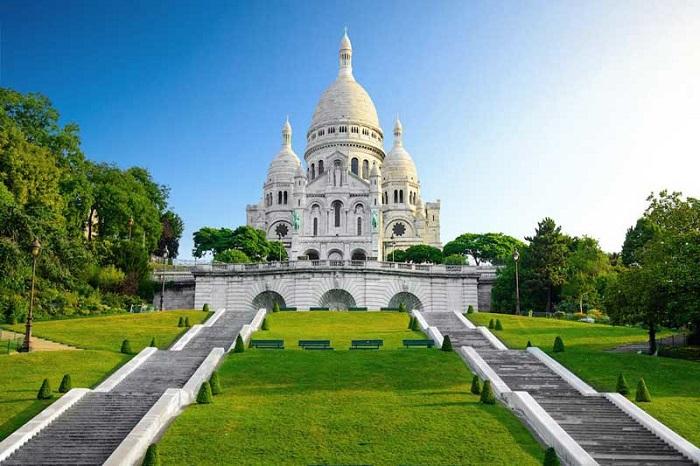 tour Châu Âu 8 ngày 7 đêm từ Quy Nhơn đồi Montmartre