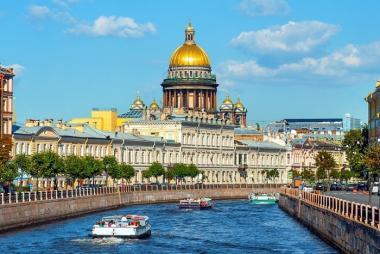 HCM/HN - Matxcova - St.Petersburg 7 Ngày Bay Vietnam Airlines