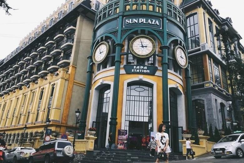 Nhà ga Sapa