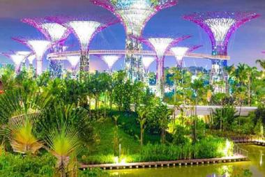 HCM - Singapore - Đảo Sentosa - Garden By The Bay 4N3Đ