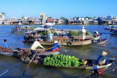 Landtour Tại Cần Thơ 2N1Đ - Chợ Nổi Cái Răng