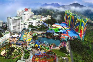 HCM - Singapore - Malaysia 5N4Đ Bay Vietjet