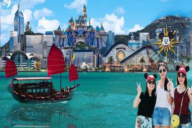HCM - Hồng Kông - Seoul - Nami - Everland 6 Ngày