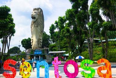 Hà Nội - Singapore - Đảo Sentosa 4N3Đ Bay Vietjet Air