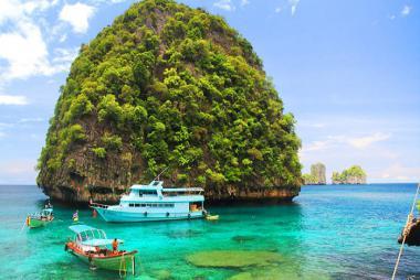 Hà Nội - Phuket - Đảo Phi Phi 4N3Đ Bay Thái Airways