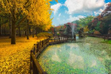 HCM - Seoul - Ara Waterway - Đảo Nami - Everland 5N4Đ Bay Vietjet Air