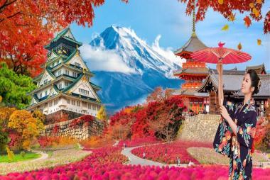 HCM - Tokyo - Nikko - Yamanashi - Fuji 5N5Đ Bay Japan Airlines