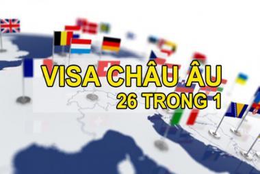 Dịch Vụ Xin Làm Visa Schengen (26 Nước châu Âu)