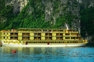 Hà Nội - Hạ Long 2N1Đ - Du thuyền Golden cruise 5* - Lớn nhất Vịnh Hạ Long