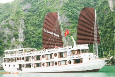 Hà Nội - Hạ Long 2N1Đ - Du thuyền Oriental Sails 3*