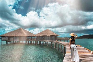 HCM - Thiên Đường Nghỉ Dưỡng Maldives 5N4Đ Bay Hàng Không SQ