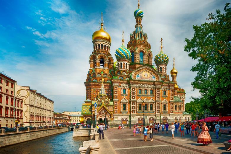 Hà Nội - Moscow - Saint Peterburg 8N7Đ Bay Aeroflot