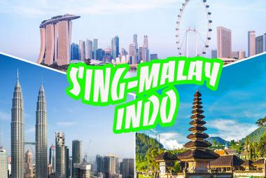 HCM - Singapore - Indonesia - Malaysia 5N4Đ