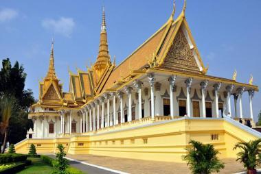 HCM - Phnom Penh - Thăm Cung Điện Hoàng Gia 2N1Đ