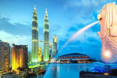 Vinh - Hà Nội - Singapore - Malaysia 5N5Đ