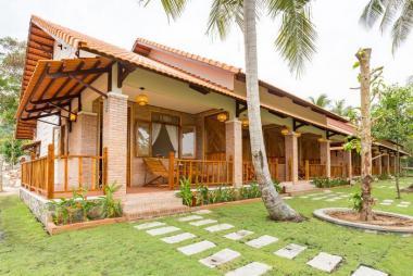 Combo Phú Quốc 3N2Đ - The Garden House Resort 3* + Vé Máy Bay