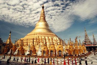 Vinh - Hà Nội - Yangon - Kyaikhtiyo - Bago 4N4Đ Bay Vietjet Air