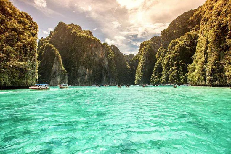 HCM - Phuket - Đảo Phi Phi - Vịnh Phang Nga 4N3Đ Bay Vietjet Air