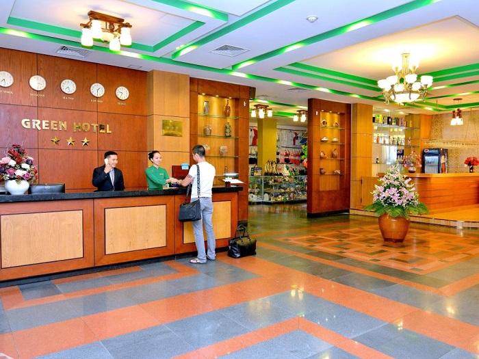 Khách sạn 3 sao Green Vũng Tàu gần như chật kín ngày thứ 7