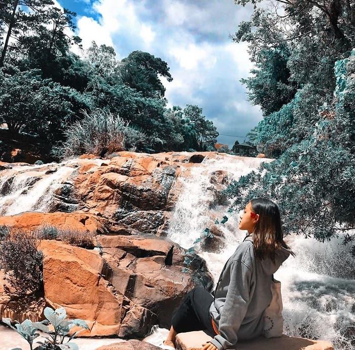 Thác Cam Ly được ví như vẻ đẹp của người sơn nữ du ca giữa núi rừng