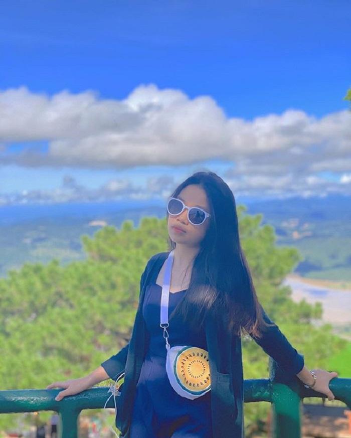 Khung cảnh lãng mạn ở đỉnh Langbiang.
