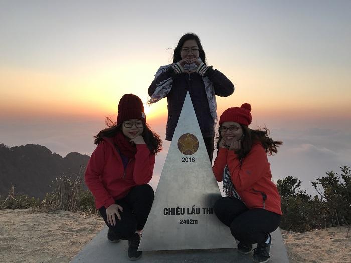 Núi Chiêu Thì Lầu - điểm check in được các bạn trẻ yêu thích.