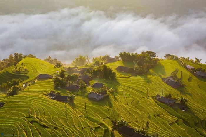 Núi Tây Côn Lĩnh là một điểm đến linh thiêng ở Hoàng Su Phì.