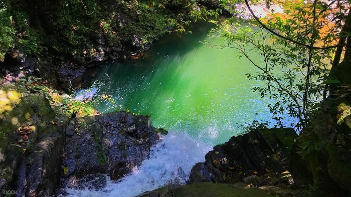 Ngũ Hồ được tạo thành từ 5 hồ nước nhỏ.