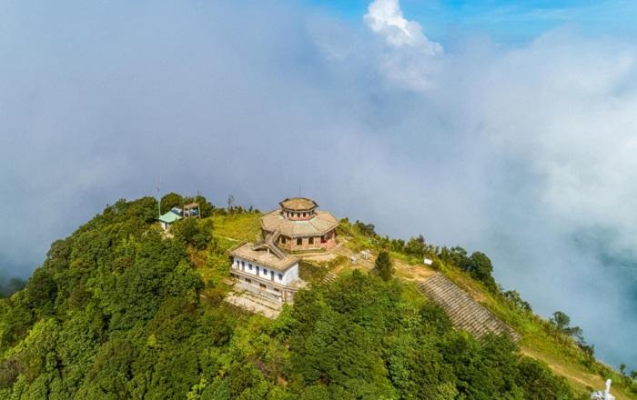 Hải Vọng Đài khi nhìn từ trên cao.