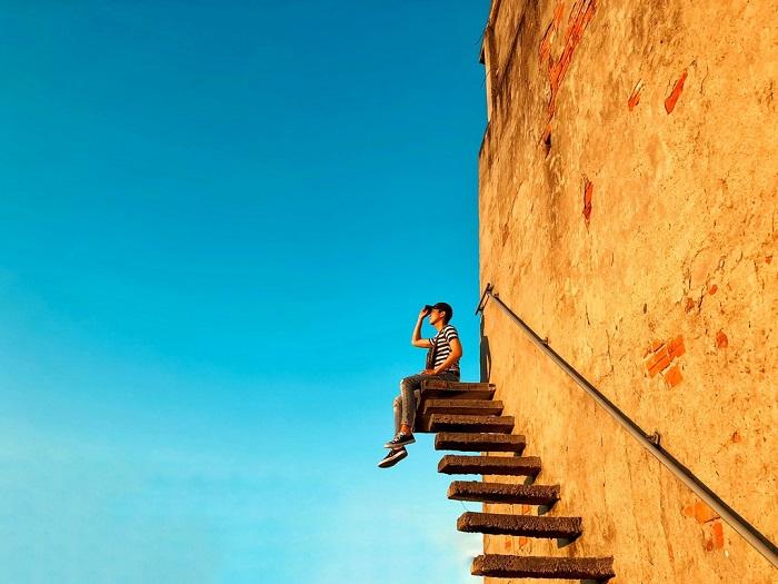 Nấc thang lên thiên đường là đây chứ đâu xa xôi.