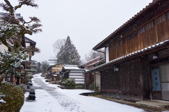 thị trấn cổ kính ở Nhật Bản