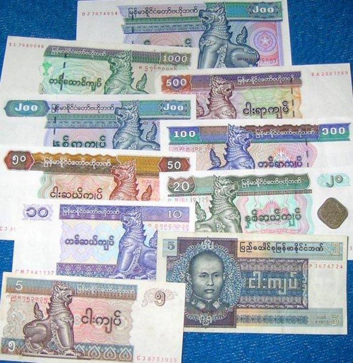 Tiền tệ của Myanmar